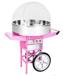 die Zuckerwattenmaschine jetzt mieten