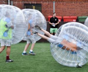 Bumperball miete günstig für dein Event