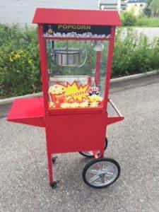 Popcorn Maschine mieten Luzern