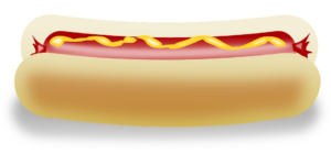 hot dog sehr fein