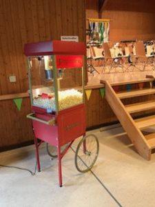 Popcornmaschine mieten Basel für frisches Popcorn