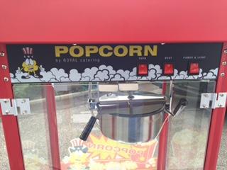 Popcornmaschine mieten für dein Firmenevent