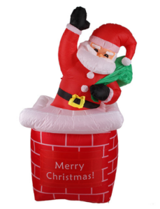 Santa aud dem Kamin mieten