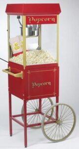 Popcorn mit roterPopcornmaschine selber herstellen