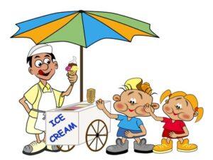 Softeis macht Kinden Spass