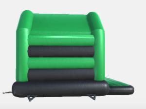 grün schwarze hüpfburg kaufen