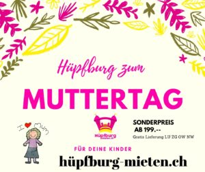 Muttertag Hüpfbur Aktion